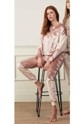 Feyza 3504 Kadın Uzun Kollu Pijama Takımı