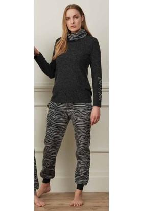 Feyza 3506 Kadın Uzun Kollu Pijama Takımı
