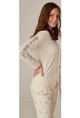 Feyza 3578 Kadın Uzun Kollu Pijama Takımı