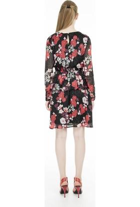 Vero Moda Vmastrid Çiçekli Elbise Kadın Elbise 10223508