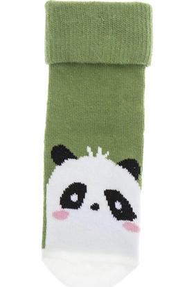 Soobe Erkek Bebek Soket Çorap Yeşil