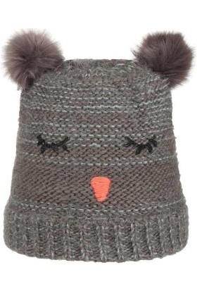 Nordbron 7159C003 Furry Beanie Darkgray Çocuk Bere