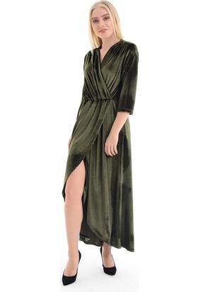 Sense Kadın Yesıl Elbise Elb31776