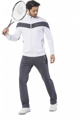 Crozwise Artıcle 1205-08 Erkek Eşofman Takımı Beyaz