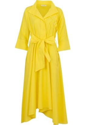 Bizefashion 2229 Kadın Casual Elbise Sari
