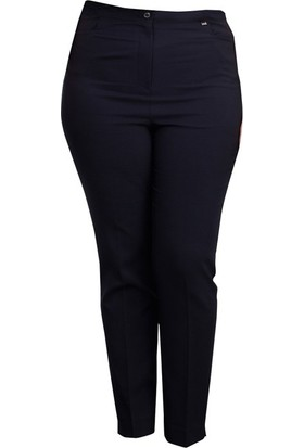 Gilda 3723 Buyuk Beden Pantolon Siyah