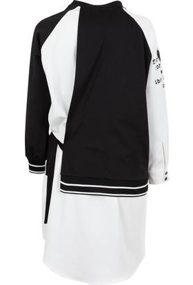Say 1925018 Kadın Elbise Beyaz