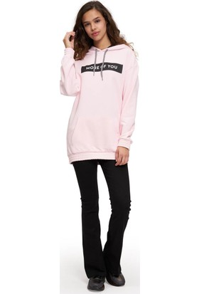 Mizalle Önü Baskılı Sweatshirt