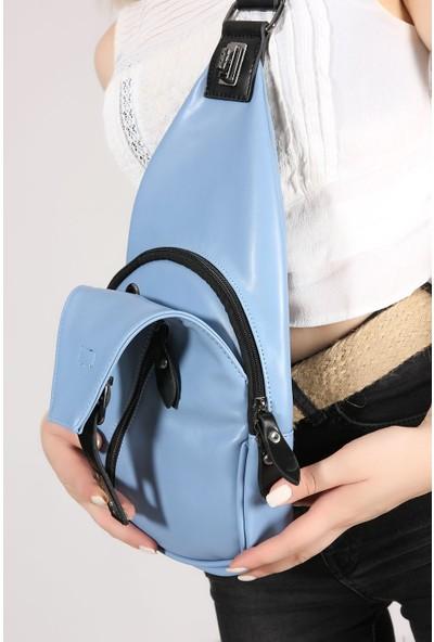 Rovigo Plus Kadın Mavi Çanta