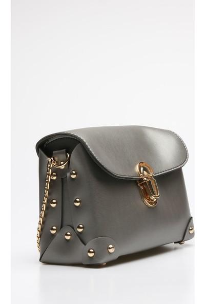 Rovigo Plus Kadın Gri Çanta