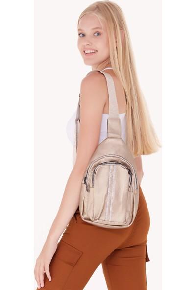 FullaModa Kadın Taşlı Çanta