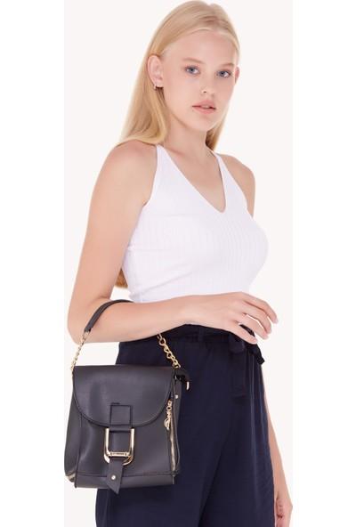 FullaModa Kadın Fermuar Detaylı Çanta