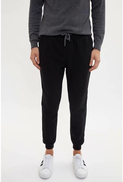 Defacto Erkek Slim Fit Lastikli Bağcık Detaylı Pantolon