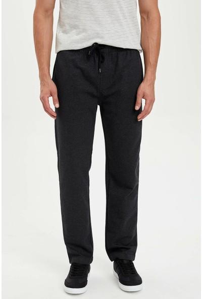 Defacto Erkek Slim Fit Bağcık Detaylı Pantolon