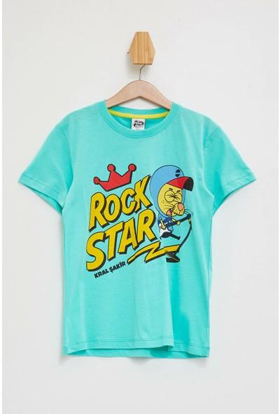Defacto Erkek Çocuk Renk Değiştiren Kral Şakir T-Shirt