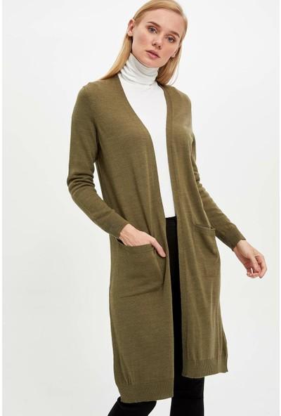 Defacto Kadın Uzun Hırka