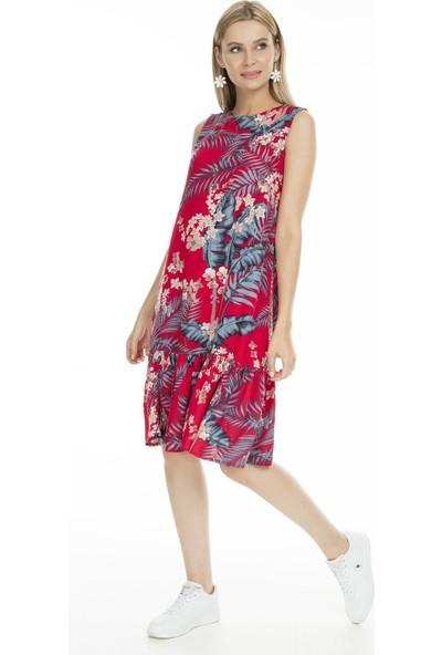 Lela Desenli Kadın Elbise 5202755B
