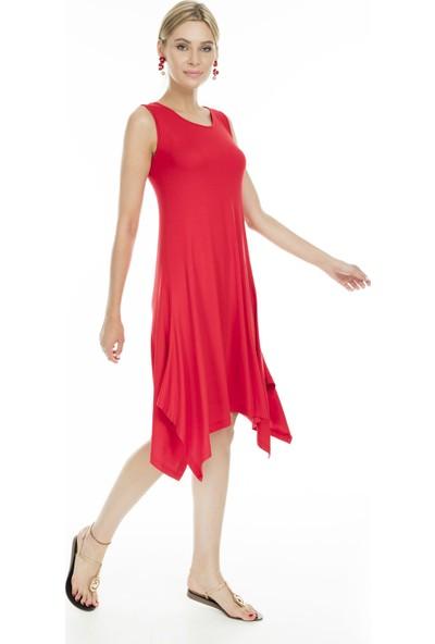 Lela Asimetrik Kesim Kadın Elbise MK19S284757