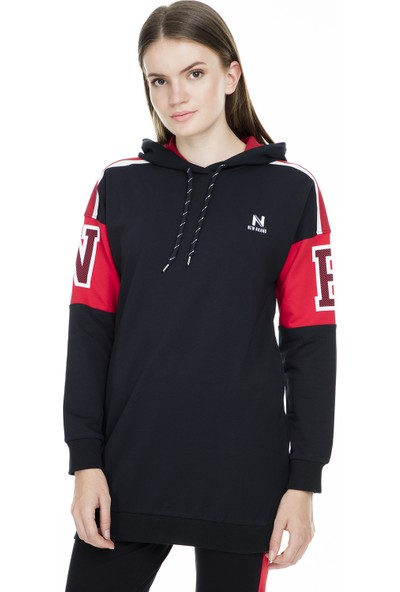New Brand Kapüşonlu Sweat Kadın Sweat N05By