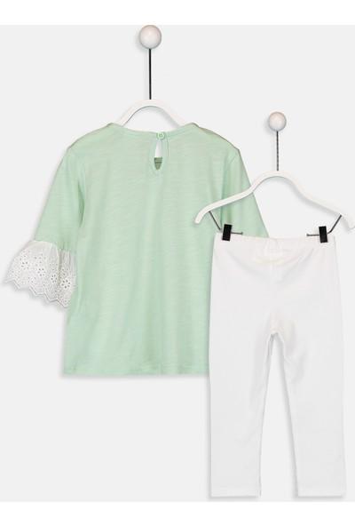LC Waikiki Kız Bebek T-Shirt Ve Tayt