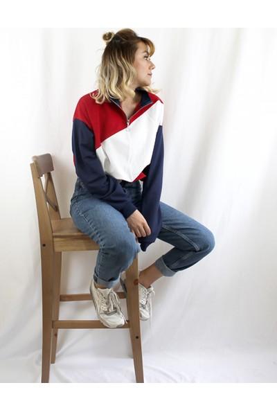 Bukika Kadın Sweatshirt Cp5674 Rain