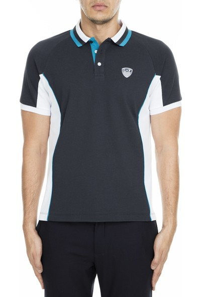 Ea7 T Shirt Erkek Polo S 3Gpf83 Pj61Z 1578