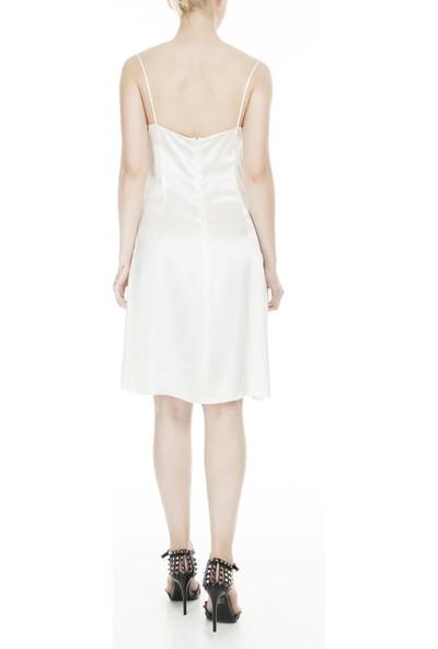 Dolce & Gabbana Ip Askılı Ipek Kadın Elbise Zoxsd0034