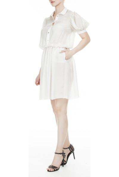 Dolce & Gabbana Önden Düğmeli Ipek Kadın Elbise Zoxsd0157