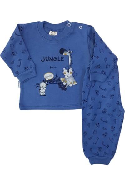 Elbebek 501 Zürafalı Bebek Pijama Takımı