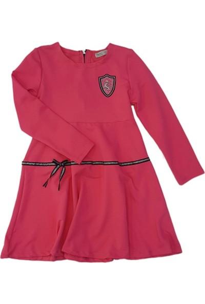 Minnak Bebe 11919 Kız Çocuk Penye Elbise