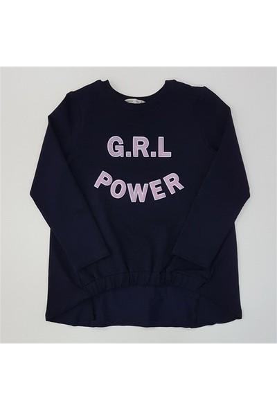 Minnak Bebe 11802 Kız Çocuk Kapüşonlu Sweatshirt