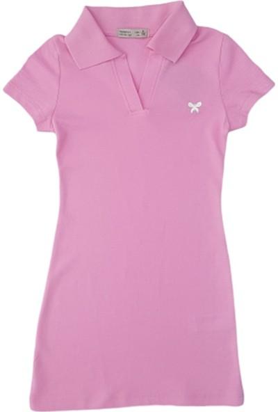 Minnak Kids 10822 Lakost Kız Çocuk Tunik Elbise