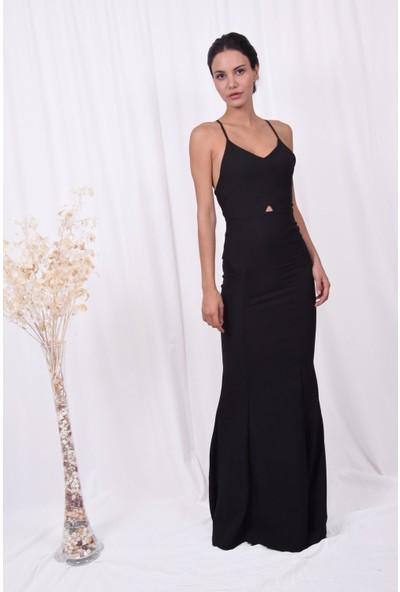 The Most Fashion Kadın Sırt Bağlamalı Elbise