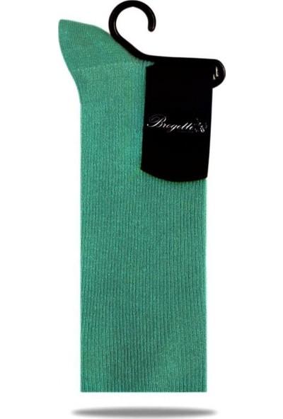 Brogetti Yeşil Soket Çorap Lina