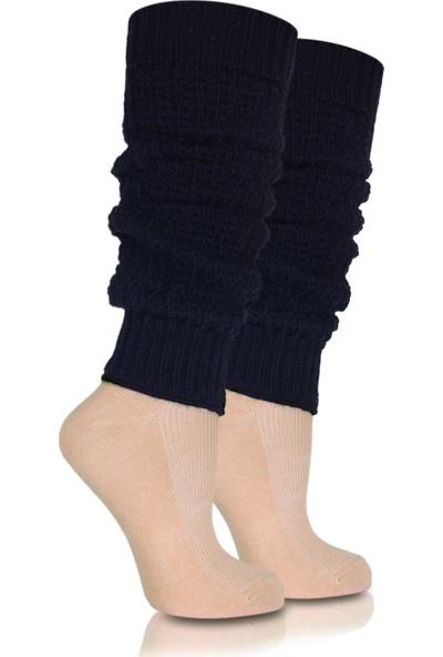 Brogetti Bayan Tozluk Çorap Siyah