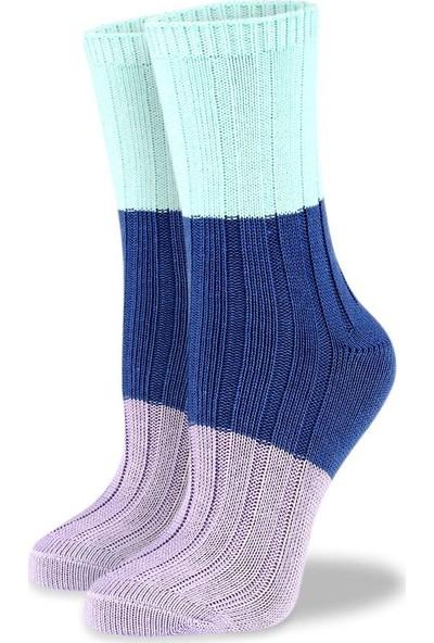 Brogetti Renkli Bayan Kışlık Çorap