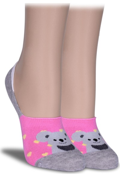 Socks Concept Sevimli Ayı Desen Babet Çorap