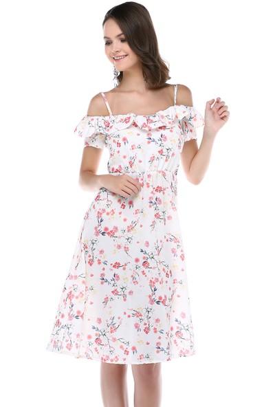 Sümeyra Gültekin Çiçekli Elbise