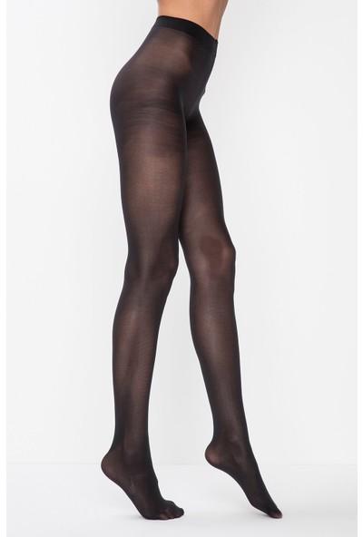 Penti Kadın Micro 40 (Mus) Düz Külotlu Çorap