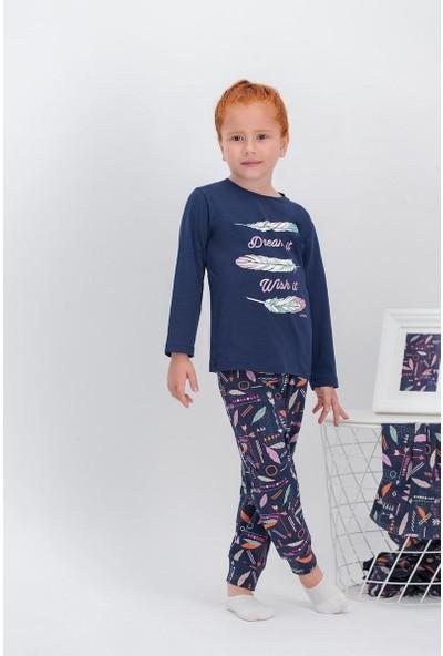 Arnetta Dream Lacivert Kız Çocuk Pijama Takımı
