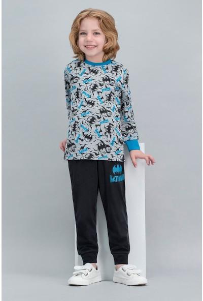 Batman Lisanslı Grimelanj Erkek Çocuk Pijama Takımı