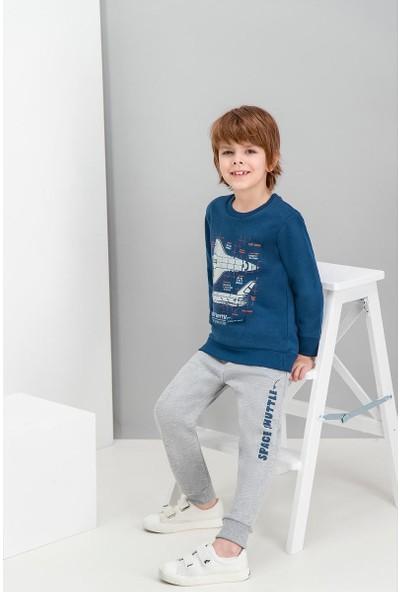 Roly Poly Space Shuttle Lacivert Erkek Çocuk Eşofman Takımı