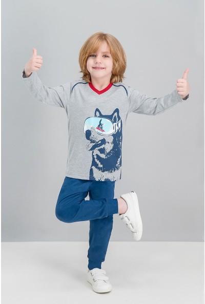 Roly Poly Husky Grimelanj Erkek Çocuk Pijama Takımı