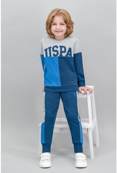 U.S. Polo Assn Lisanslı Grimelanj Erkek Çocuk Eşofman Takımı
