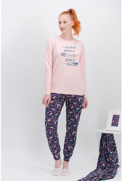 Arnetta Dream İnci Pembe Kadın Pijama Takımı