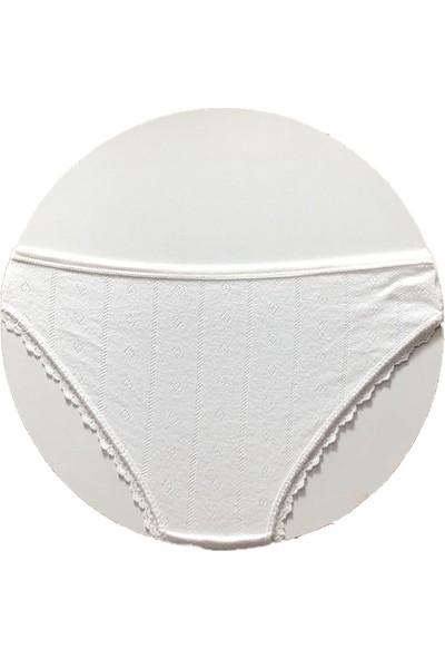 İlke Dantelli Kadın Düşük Bel Bikini Külot 273-272