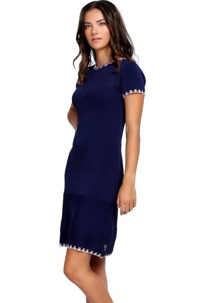 Efgima Kadın Baharlık Triko Elbise
