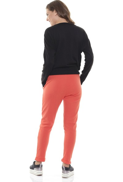 Efgima Kadın Beli Lastikli Spor Pantolon