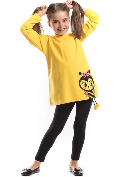 Mushi Kız Çocuk Tatlı Arıcık Tunik Takım