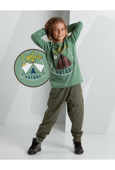 Mushi Erkek Çocuk Kampçı Erkek Pantolon Takım